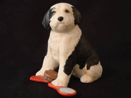 9  The Franklin Mint Sheepdog Figurine (Rare Limitit Ed.) - $32.00