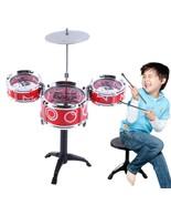 Drum Set Toy Model Children Educational Musical Equipment Multisensor Sm... - $18.80
