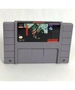 Cliffhanger SNES Super Nintendo System Video Game Cartridge Vintage Genu... - $15.87
