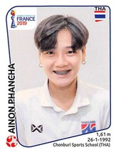 2019 Panini FIFA Women's World Cup France Sticker #427 Ainon Phancha - $2.49