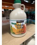 Kirkland Signature Organic Maple Syrup 100% Pure Grade A Amber Rich Tast... - $21.00