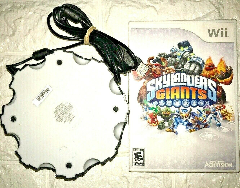 Skylanders GIANTS Nintendo Wii 2012 Game Complete W/ Disc and Portal Of Power image 2