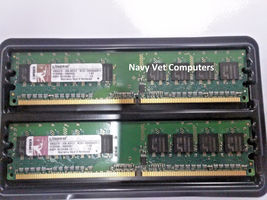 1GB (2 x 512MB) Kingston Desktop RAM Memory - DDR2 667MHz KTH-XW4300/512 - $10.90