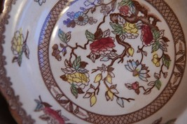 2 PC SET MARUTA JAPAN INDIAN TREE BROWN  ROUND SOUP CEREAL BOWL VINTAGE ... - $39.99