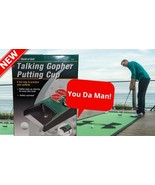 Talking Gopher Putting Cup Practice World of Golf Fun Automatically Retu... - $12.72