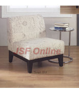 Avenue Six Glen SCRIPT Print Fabric Living Room... - $199.00