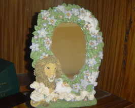 Lion and Lamb Decorative Mirror - $9.99