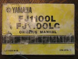 84-85 Yamaha FJ1100L FJ1100LC FJ1100 Fj 1100 L Lc Original Oem Owner's Manual - $95.99