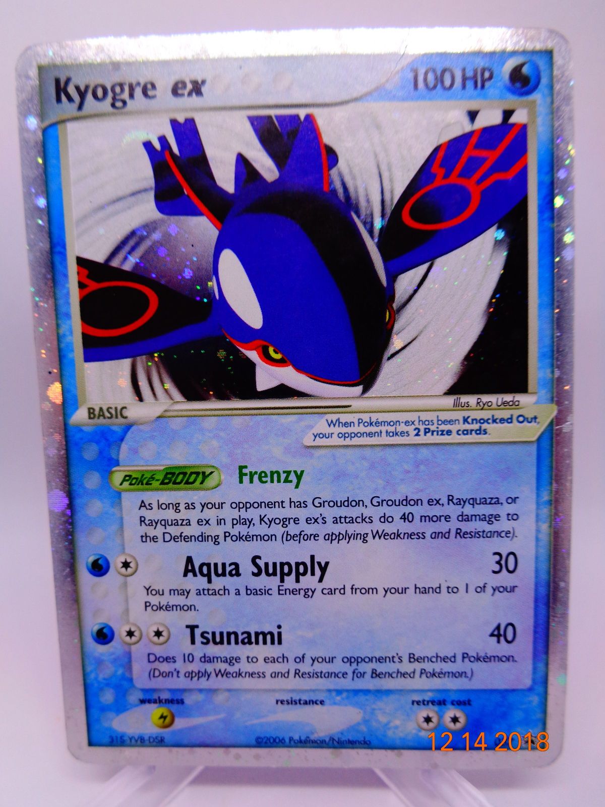 First Ticket 19//20 Holo Foil Pokemon Card