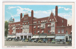 Hotel Moody Claremont NH 1920s postcard - $5.94