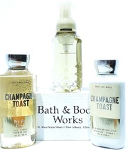 Bath and Body Works Champagne Toast Shower Gel, Hand Soap & Body Lotion - $21.83