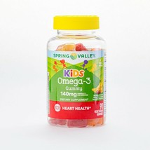 Spring Valley - Kid's Omega-3 Dietary Supplement - Vegetarian Gummies - 90 Ct..+ - $25.99