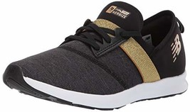 Balance Girls' Nergize V1 FuelCore Sneaker Black/Classic Gold 10 M US To... - $34.79