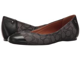 Coach Women's Chelsea Leather Cap Toe Slip on Flats for formal/Casual Wear - $64.35+