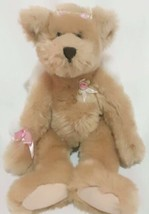 "Wishpets Breanna Teddy Bear Plush with Angel Wings VINTAGE 1999 TAN 14"" - $12.88"
