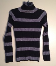 INC International Concepts Petite Metallic Ribbed Turtleneck Sweater 3D4... - $22.00