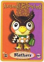Blathers 007 Animal Crossing E-Reader Card Nintendo GBA - $9.99