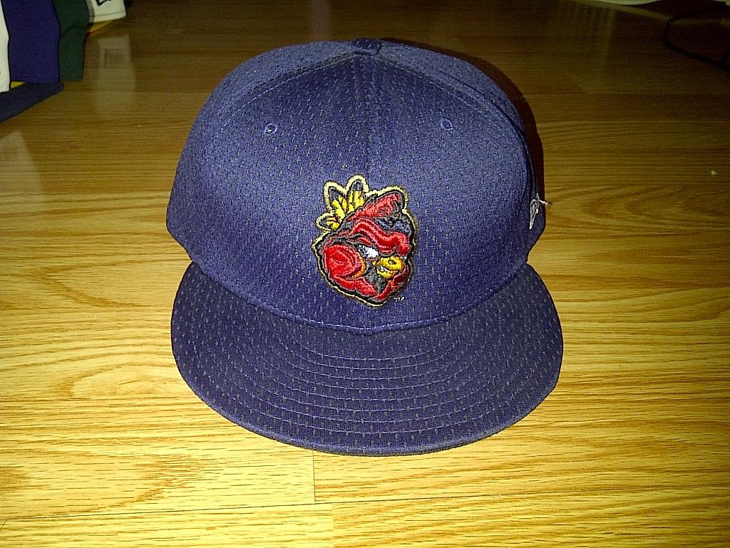 New Era Minor League Baseball Peoria Chiefs Dark Navy Blue Fitted Cap Hat 8