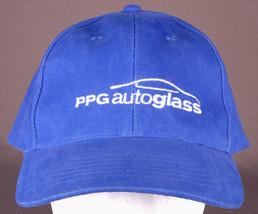 PPG Autoglass Hat-Blue-Anvil-Embroidered-Strapback-Car Truck Van Garage Street C - $24.30