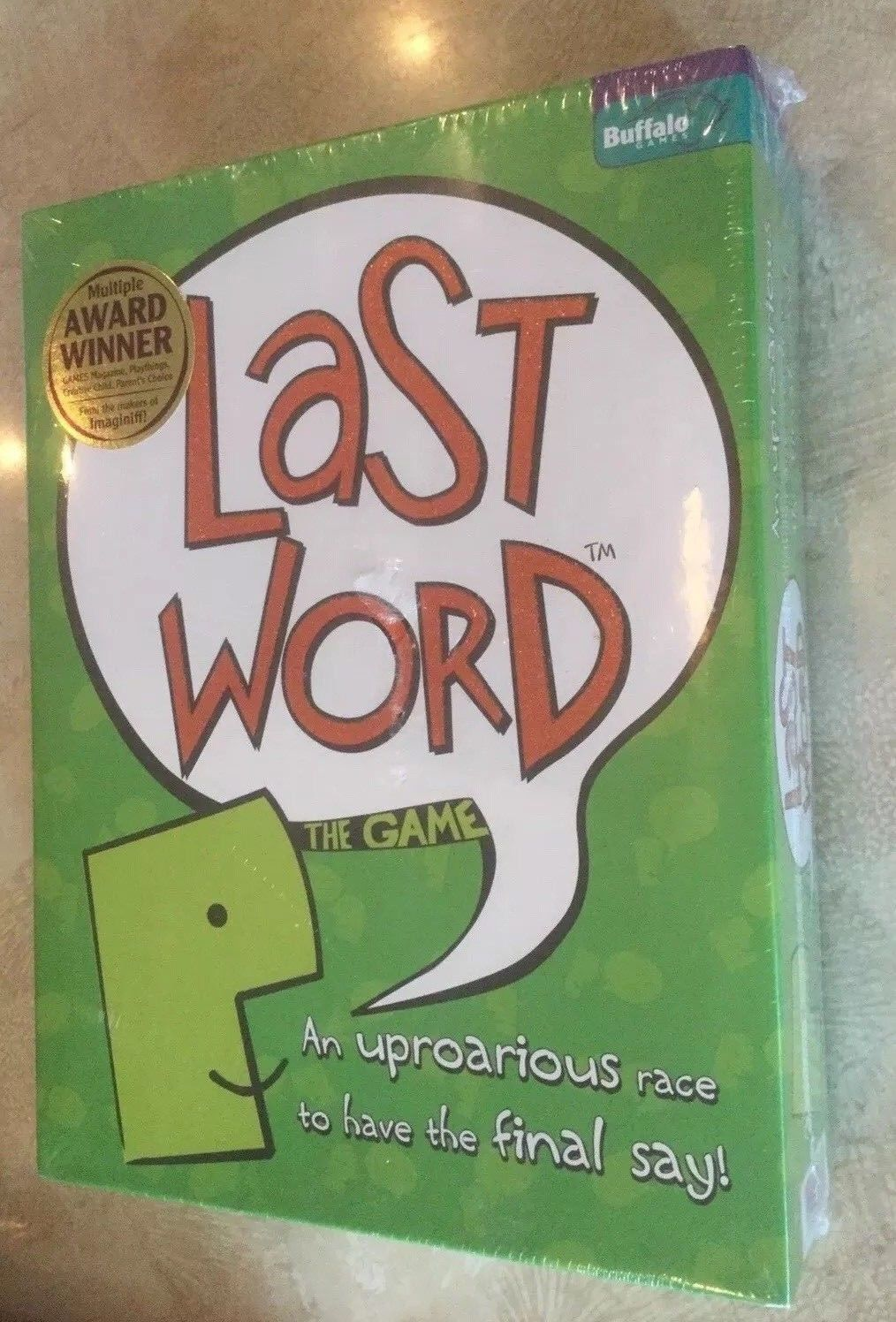 Last Word The Game New Sealed