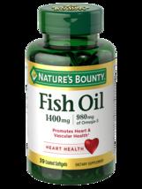 Nature's Bounty Fish Oil 1400 mg., 130 Coated Softgels - $33.99
