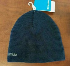 Columbia Whirlbird Watch Cap Beanie Knit Hat Mens Womens OSFM Blue New  - $19.79