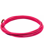Pink 20 ft jr kids little looper rodeo youth roping rope western lasso l... - $16.72
