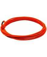 Orange 20' jr kids little looper rodeo youth roping rope western lasso l... - $16.72