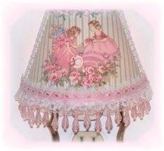 Victorian Girls Sweet Pink Roses Night Light - $17.99