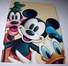 Commemorative Unused Prepaid Postcard-MICKEY Mouse,Donald Du - $12.00