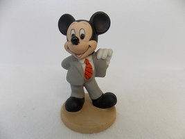 Disney Mickey Mouse All Suited Up Ceramic Figurine  - $25.00