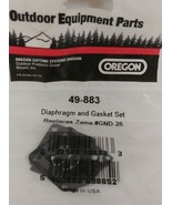 NEW OREGON 49-883 Diaphragm and Gasket Kit Replaces Zama GND-28 - $7.87