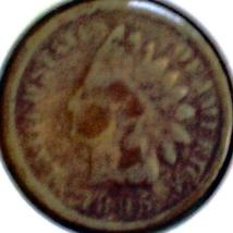 1895  INDIAN HEAD CENT - BRONZE Issue - SCARCE BTR DATE Circ Coin - $4.50