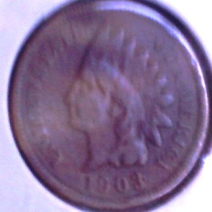 1903  INDIAN Head CENT - 110 yr old BRONZE Cent - BTR DATE circulated