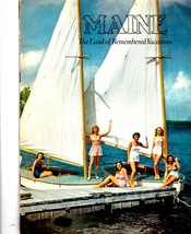 Maine - The Land of Remembered Vacations (Vintage 1940) - $3.95