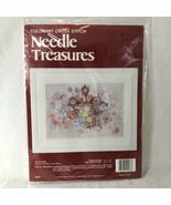 Colorart Cross Stitch Kit PASTEL HUES Johnson Creative Arts #02586 - $48.37
