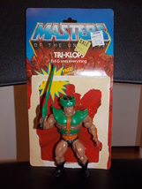 Vintage 1981 Masters Of The Universe Tri-Klops Figure Complete With Card... - $19.99