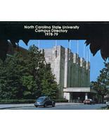 Vintage 1978-79 North Carolina State University Campus Directory Volkswagen - $10.00