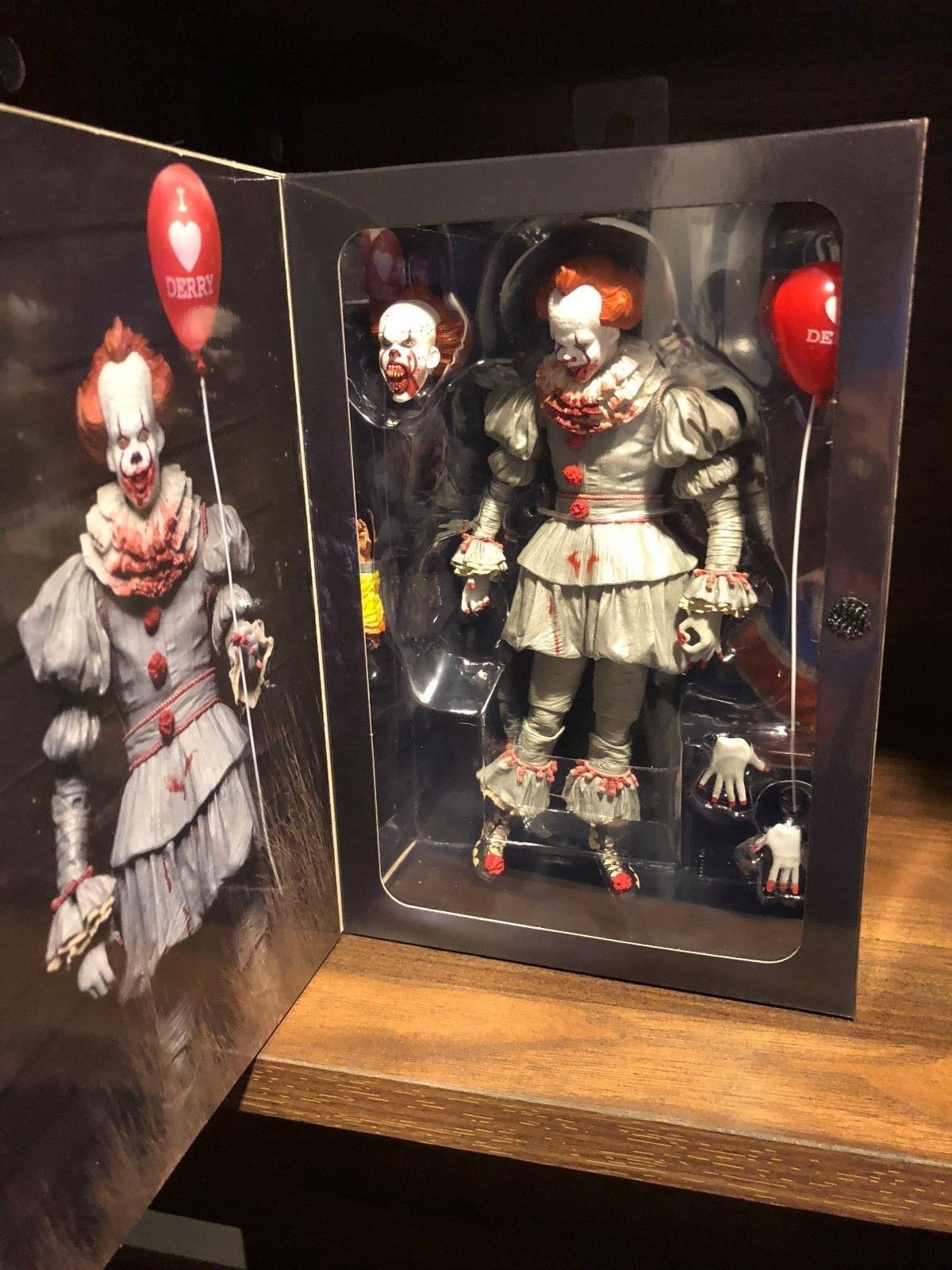 NECA Ultimate IT Pennywise Gamestop and 50 similar items