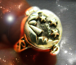 Haunted Poison Ring Master Witch's Command Time Shape Your World Ooak Magick - $7,997.77