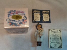 "Jan Hagara Porcelain Figurine - Ornament ""SHARICE"" NIB with COA - $6.92"