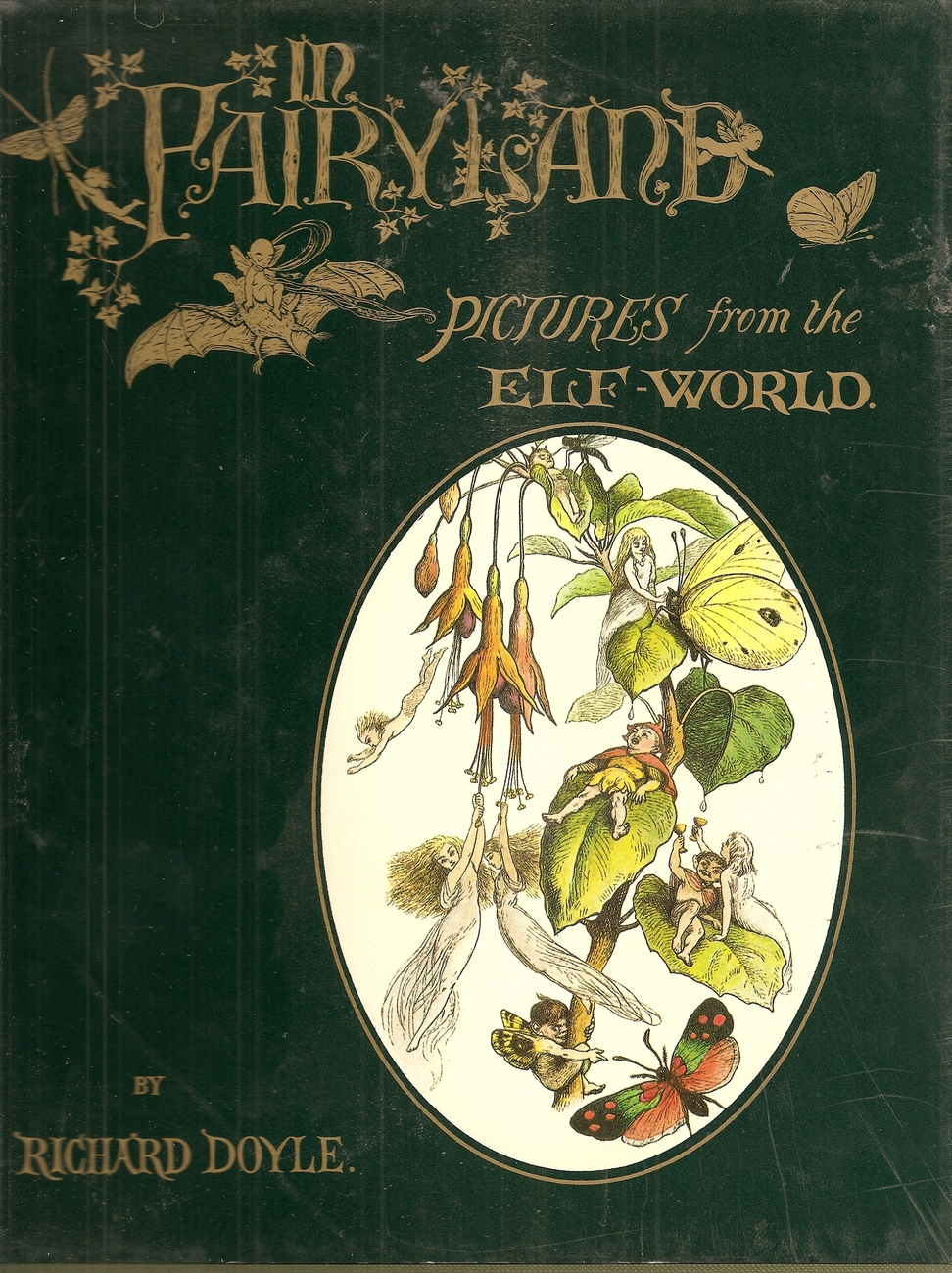 BOOK--In Fairyland (a Studio Book) by Bryan Holme And Richard Doyle And Andrew L