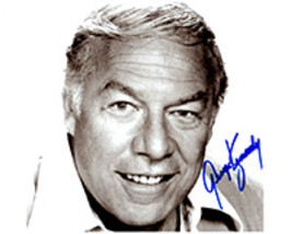 GEORGE KENNEDY  Authentic  Original  SIGNED AUTOGRAPHED PHOTO w/ COA 38017 - $60.00