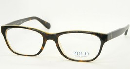 New Polo Ralph Lauren Ph 2127 5337 Havana On Yellow Eyeglasses Frame 52-17-145mm - $60.76