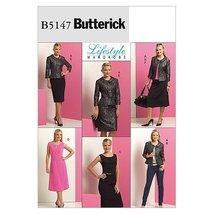 Butterick Patterns B5147 Misses'/Misses' Petite Jacket, Top, Dress and S... - $11.76