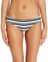 MINKPINK Women's Show Your Stripes Boyleg Swim Bikini Bottom, M - $13.86