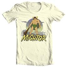 Mightor T-shirt  Saturday morning cartoons retro 80s cotton tee Fee Shipping image 2