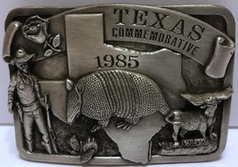 VTG Arroyo Grande Texas Commemorative State Armadillo Marshall Buckle 19... - $42.07