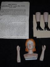 Meg March of Little Women Porcelain Doll Kit  - $15.83