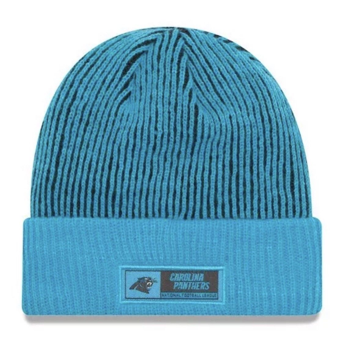 Carolina Panthers New Era Knit Hat On Field Tech Beanie Stocking Cap-OSFM $25!!